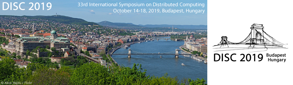 International Symposium on DIStributed Computing (DISC) 2019