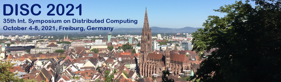 International Symposium on DIStributed Computing (DISC) 2021